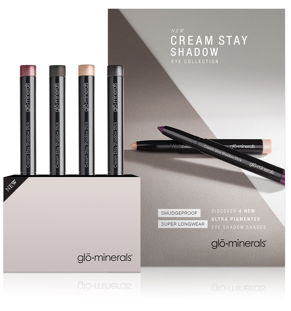 glō∙minerals Cream Stay Shadow Stick & Precise Micro Browliner