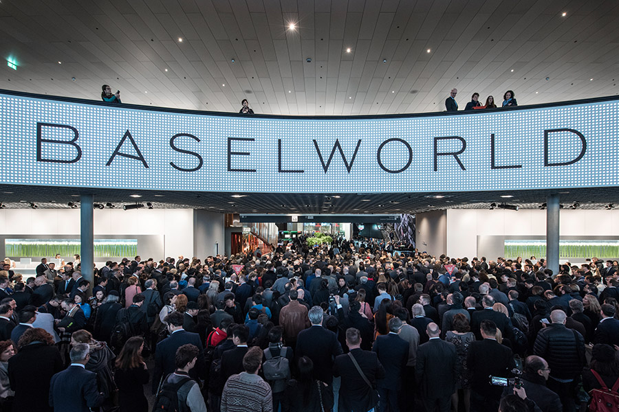 Foto Baselworld Entrance